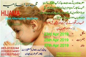 Sunnah Days Dates April 2019